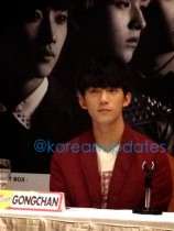 130311 Press Conference - Gongchan