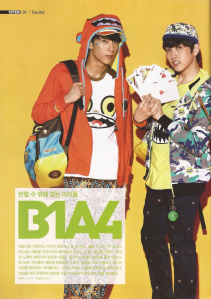 B1A4 - 10Ten Magazine March Issue 1