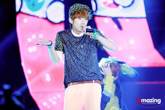 130507 B1A4 at SBS Inkigayo Special in Chungju ~ Jinyoung (13)