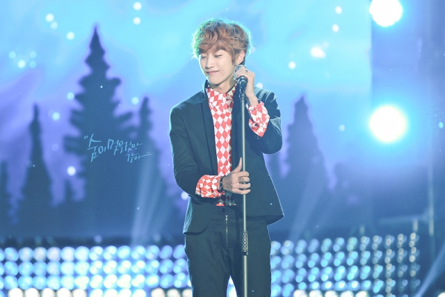 130507 B1A4 at SBS Inkigayo Special in Chungju ~ Jinyoung (20)