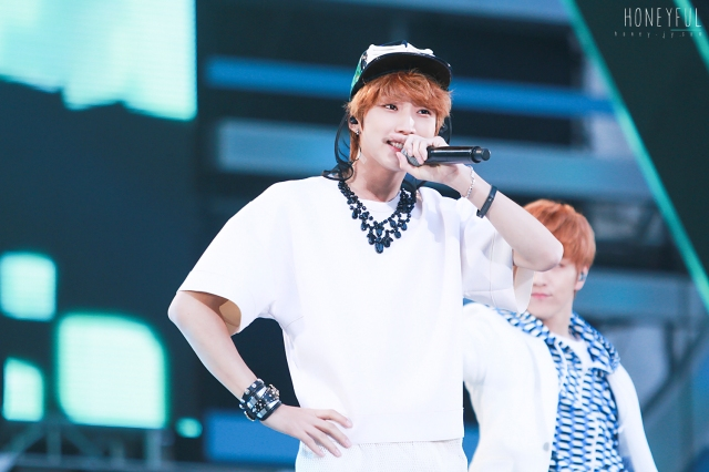 130511 B1A4 at Dream Concert - Jinyoung (1)