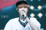 130511 B1A4 Jinyoung at Music Core (17)