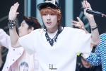 130511 B1A4 Jinyoung at Music Core (2)