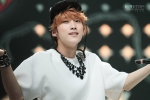 130511 B1A4 Jinyoung at Music Core (23)