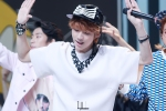 130511 B1A4 Jinyoung at Music Core (3)