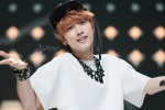 130511 B1A4 Jinyoung at Music Core (39)