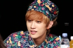 130518 B1A4 Jinyoung - 1st fansign in Mapo Art Center (2)