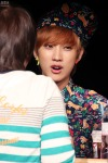 130518 B1A4 Jinyoung - 1st fansign in Mapo Art Center (22)