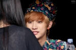 130518 B1A4 Jinyoung - 1st fansign in Mapo Art Center (23)