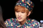 130518 B1A4 Jinyoung - 1st fansign in Mapo Art Center (3)