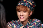130518 B1A4 Jinyoung - 1st fansign in Mapo Art Center (5)