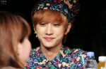 130518 B1A4 Jinyoung - 1st fansign in Mapo Art Center (6)