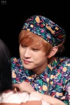 130518 B1A4 Jinyoung - 1st fansign in Mapo Art Center (7)