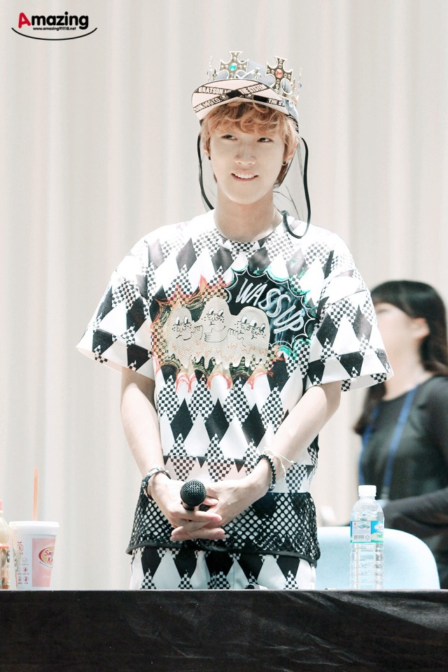 130525 B1A4 fansign event in Yongsan ~ Jinyoung (3)