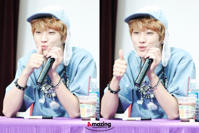 130526 B1A4  fansign event in Incheon ~ Jinyoung (7)