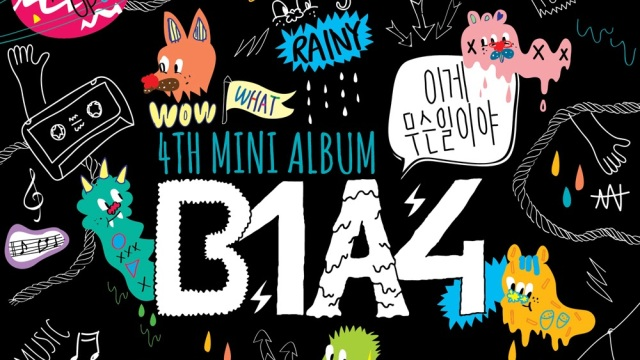 b1a4 4th mini album - what's going on (1)