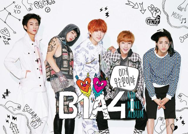 b1a4 4th mini-album what's going on (poster)