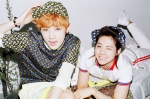 b1a4 - what's going on picture (jinyoung, cnu)