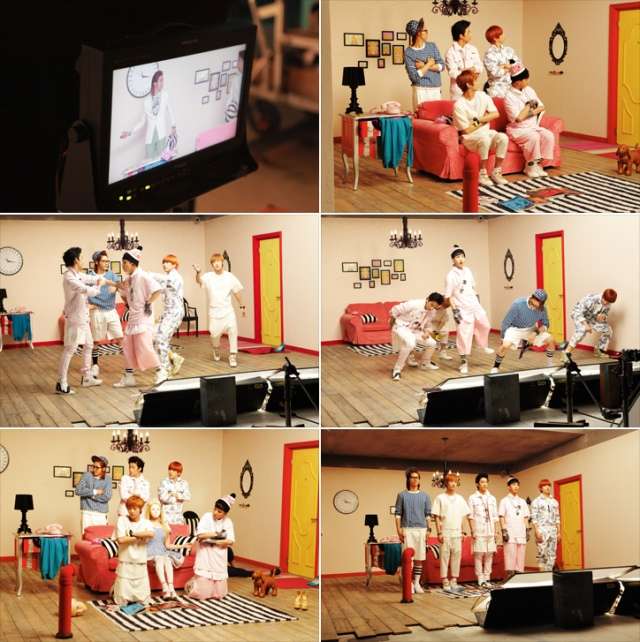 [BTS] B1A4 – What's Happening (13)