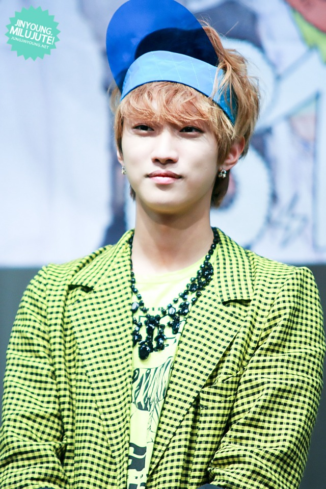 130602 B1A4 fansign event in Daejeon ~ Jinyoung (46)