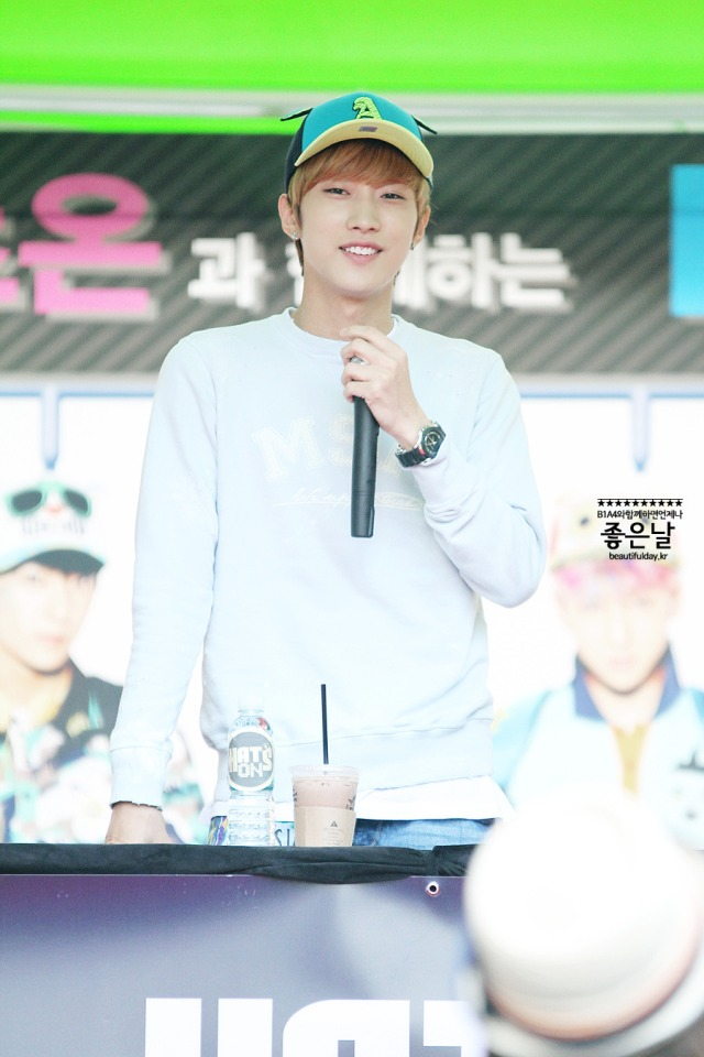 130604 Hats On Fansign – B1A4 Jinyoung (81)