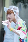 130607 B1A4 Jinyoung - Music Bank (9)