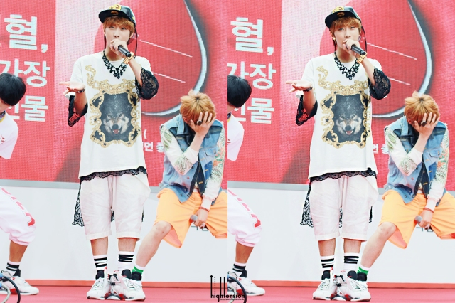 130613 B1A4 Jinyoung – KBS1 Special Blood Donation Festival (69)