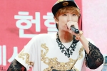 130613 B1A4 Jinyoung – KBS1 Special Blood Donation Festival (77)
