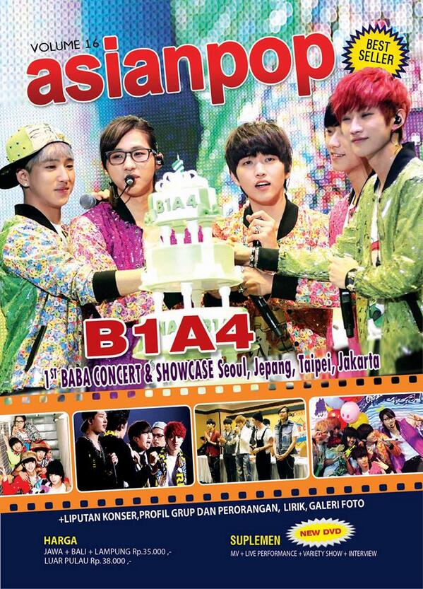 Asianpop Vol.16 - B1A4