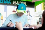 [Blog] 130604 Hats On fansign - B1A4 Jinyoung (5)
