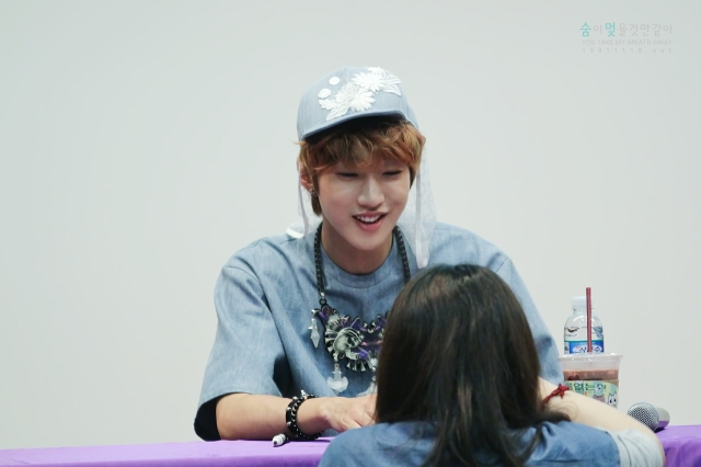 130526 B1A4 in Incheon Fansign ~ Jinyoung (1)