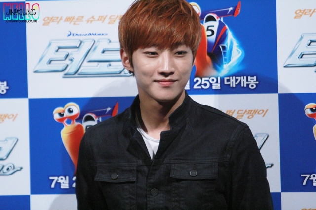 130717 B1A4 Jinyoung – Turbo Movie Premiere (1)