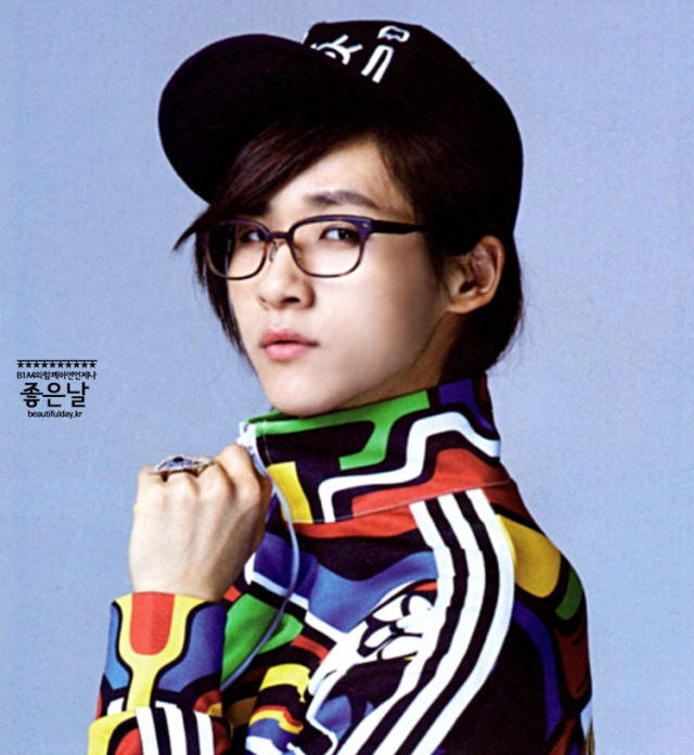 B1A4 CNU - PATi PATi Magazine, August 2013 issue