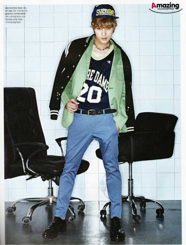 B1A4 Jinyoung - 'ESQUIRE' Magazine, August 2013 issue (3)