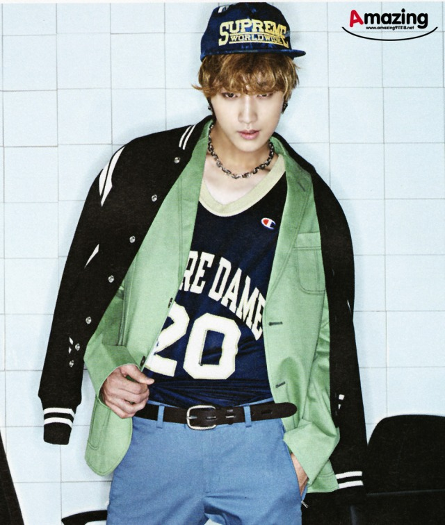 B1A4 Jinyoung - 'ESQUIRE' Magazine, August 2013 issue (edit 1)