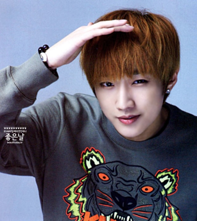 B1A4 Jinyoung - PATi PATi Magazine, August 2013 issue