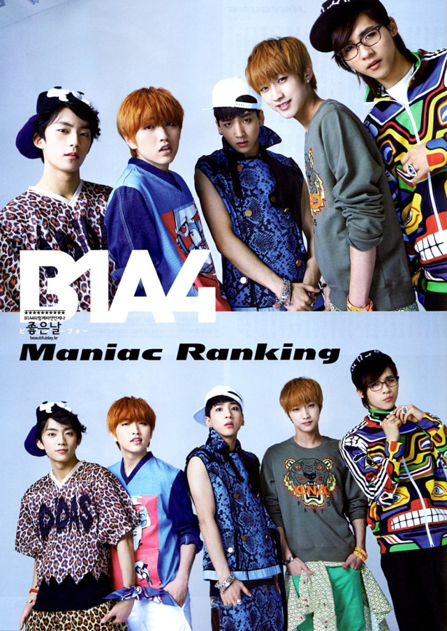 B1A4 - PATi PATi Magazine, August 2013 issue (1)
