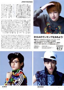 B1A4 - PATi PATi Magazine, August 2013 issue (2)