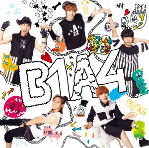 B1A4′s 3rd Japanese Single - Cover A