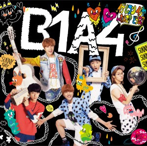 B1A4′s 3rd Japanese Single - Cover B