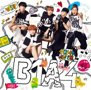 B1A4′s 3rd Japanese Single - Cover Normal