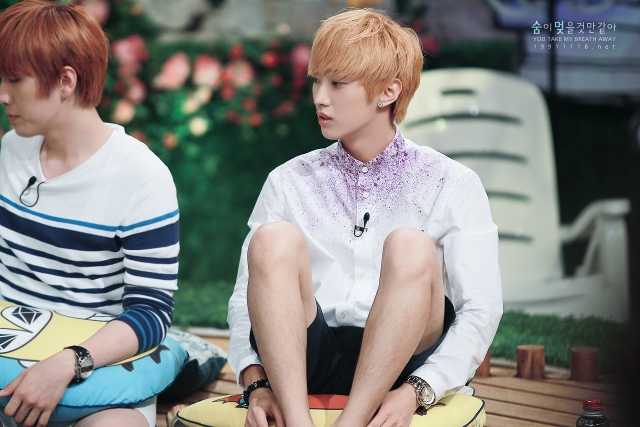 130804  KBS Hello Counselor - B1A4 Jinyoung (2)
