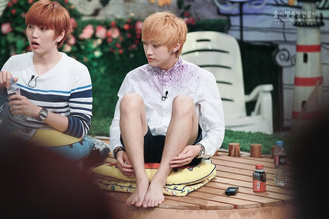 130804  KBS Hello Counselor - B1A4 Jinyoung (3)
