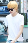 130819 Jinyoung – 'Suspicious Woman' movie filming in Hongdae (14)