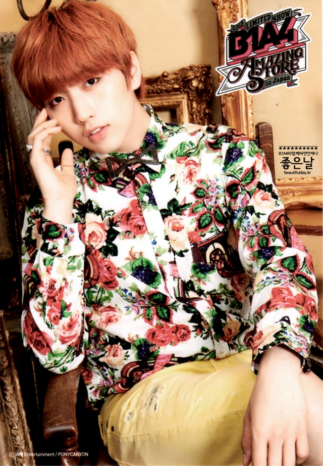 B1A4 Amazing Store Japan Official goodies trading card (4)