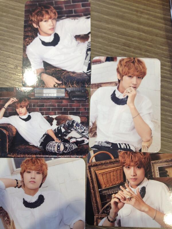 B1A4 Amazing Store Japan Official goodies trading card (7)