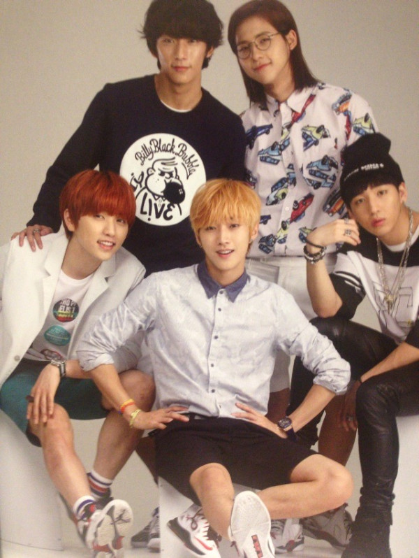 "B1A4 for ""K&"" Japanese magazine vol.10 (2)"