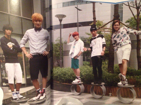 "B1A4 for ""K&"" Japanese magazine vol.10 (3)"