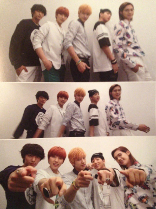 "B1A4 for ""K&"" Japanese magazine vol.10 (5)"