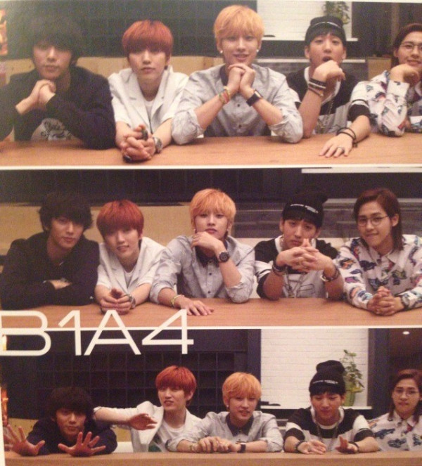 "B1A4 for ""K&"" Japanese magazine vol.10 (6)"